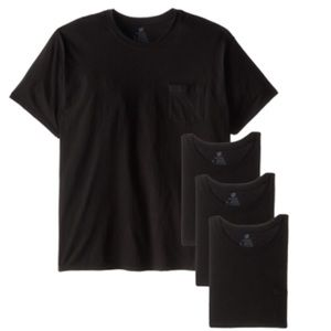 New Hanes Men's Fresh IQ Pocket T-Shirt